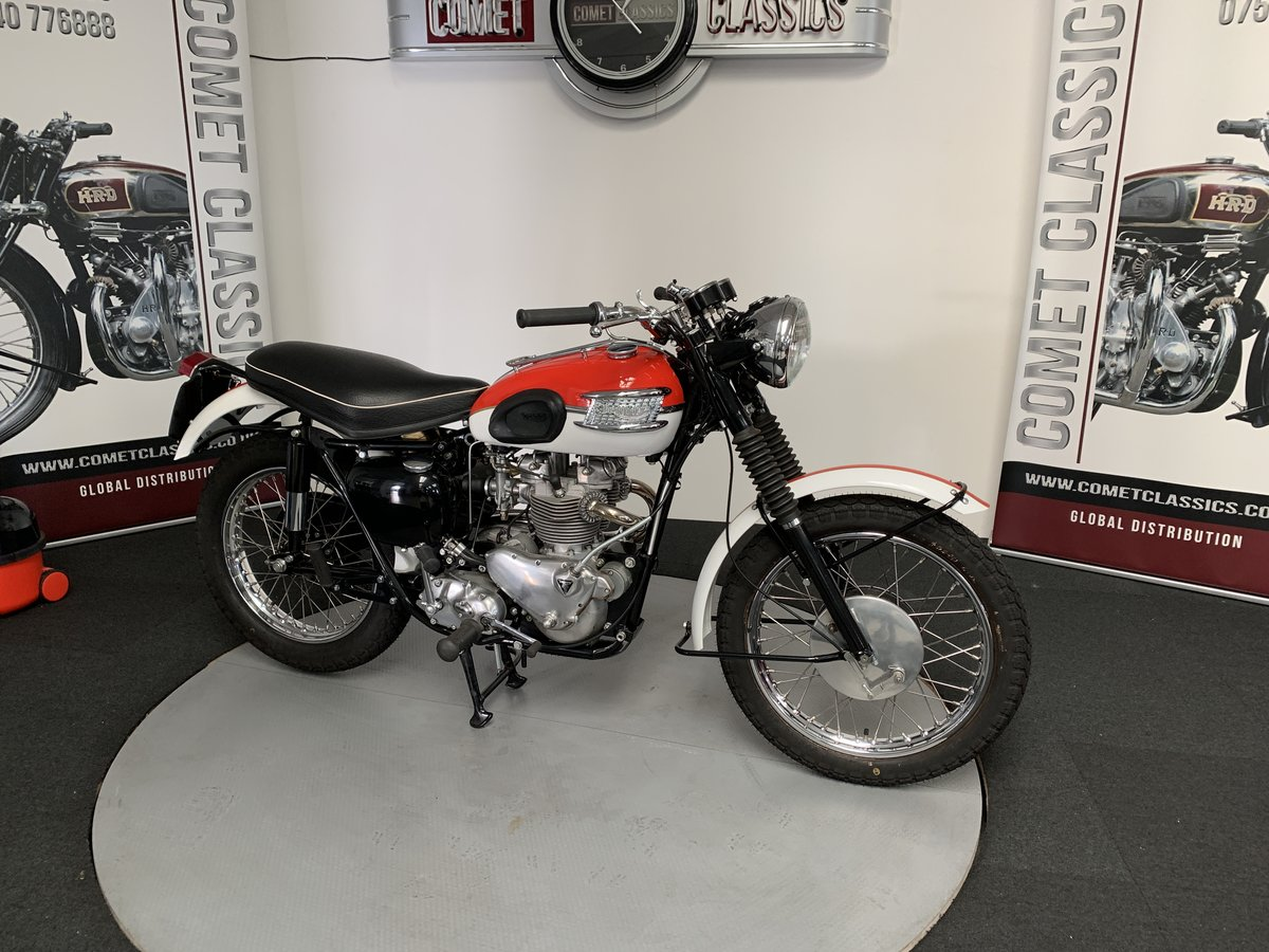1958 Triumph TR6 650cc For Sale (picture 4 of 6)