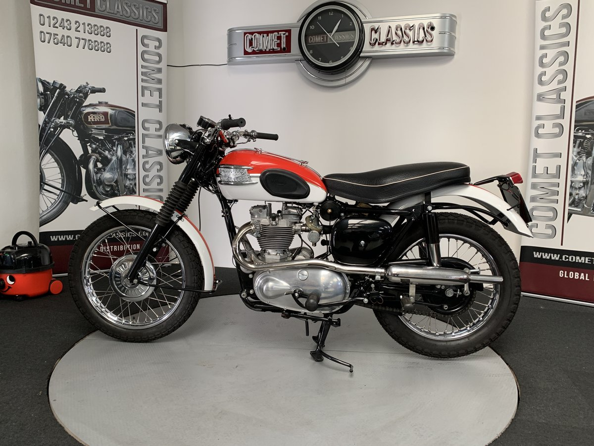 1958 Triumph TR6 650cc For Sale (picture 5 of 6)