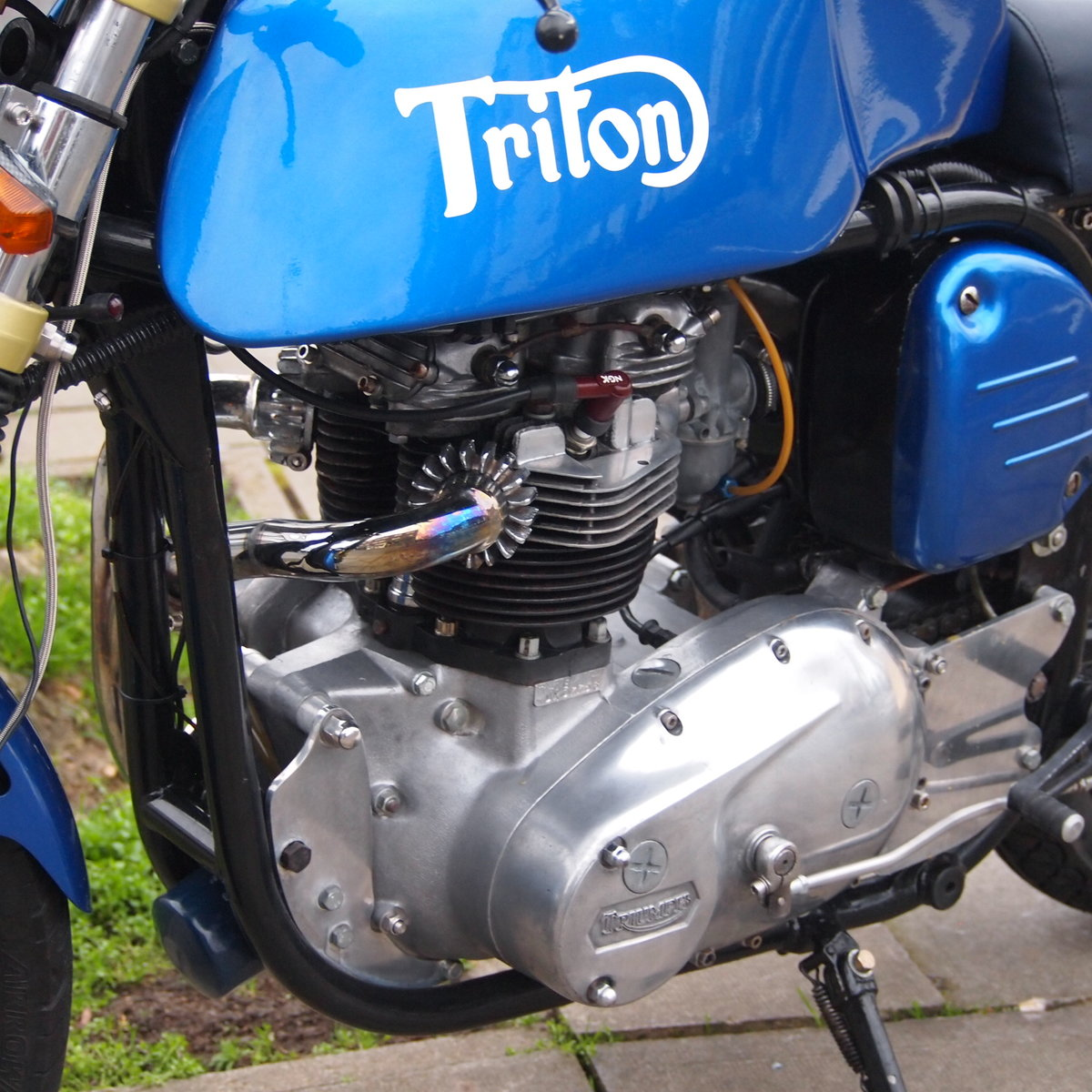 1965 Triumph T140 Triton Cafe Racer. RESERVED FOR NORMAN. SOLD (picture 3 of 6)
