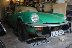1978 Triumph Spitfire 1500 - Project/Restoration