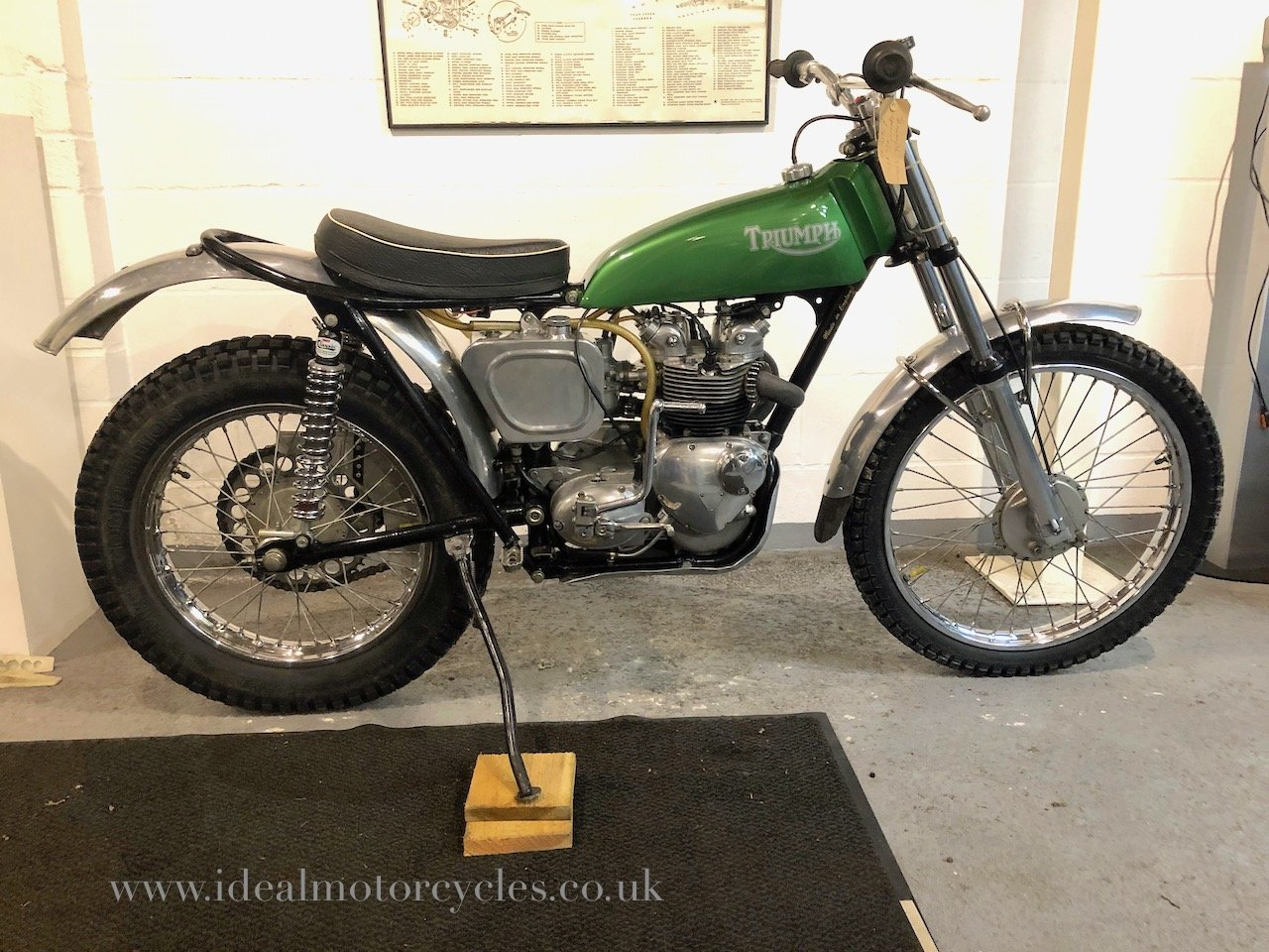 1964 Pre 65 Triumph 350cc Trials For Sale (picture 1 of 6)