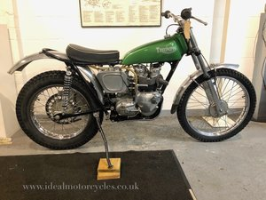 1964 Pre 65 Triumph 350cc Trials For Sale