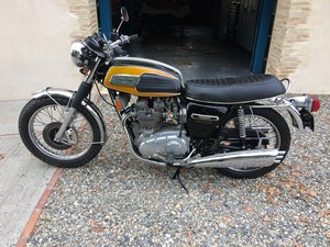 1975 Triumph Trident Low mileage, unrestored