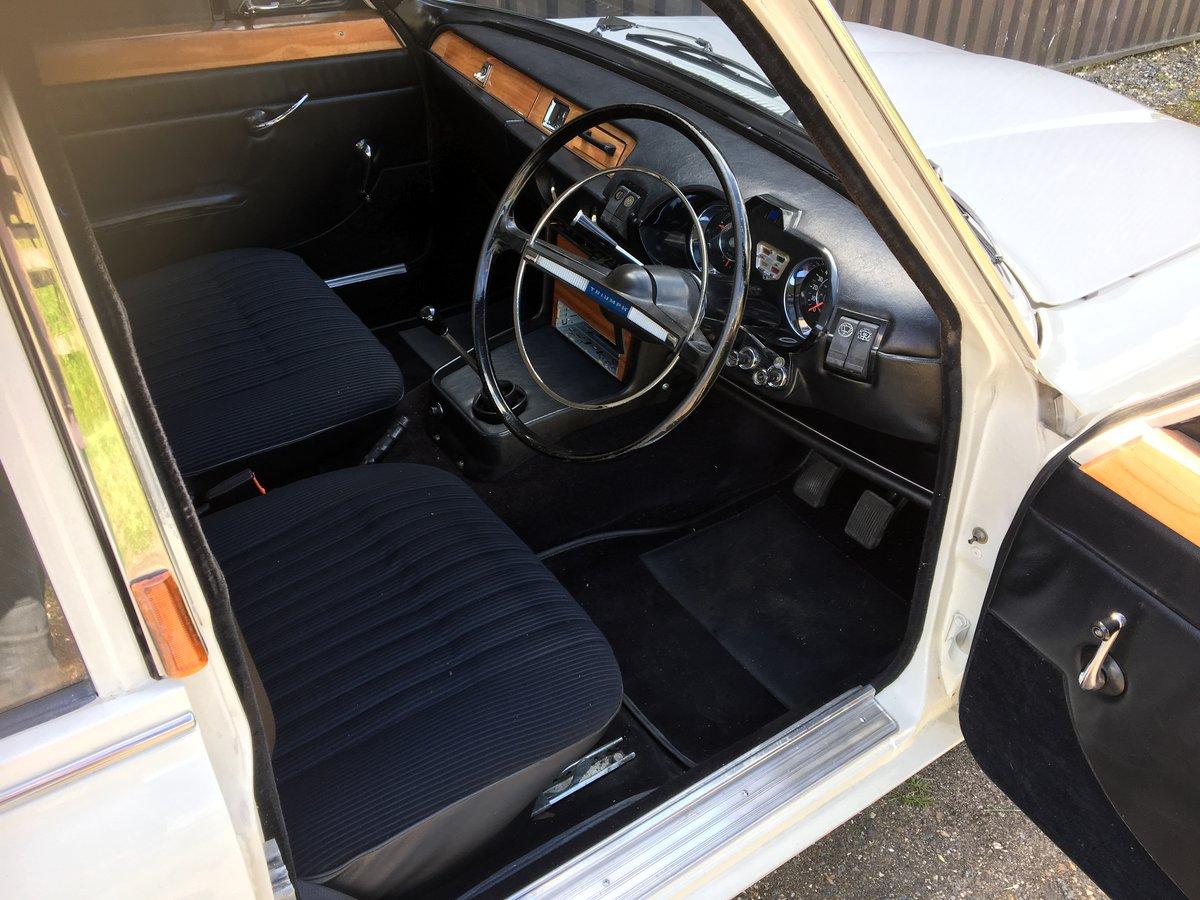 1968 Triumph 2000 MK1 SOLD (picture 4 of 6)