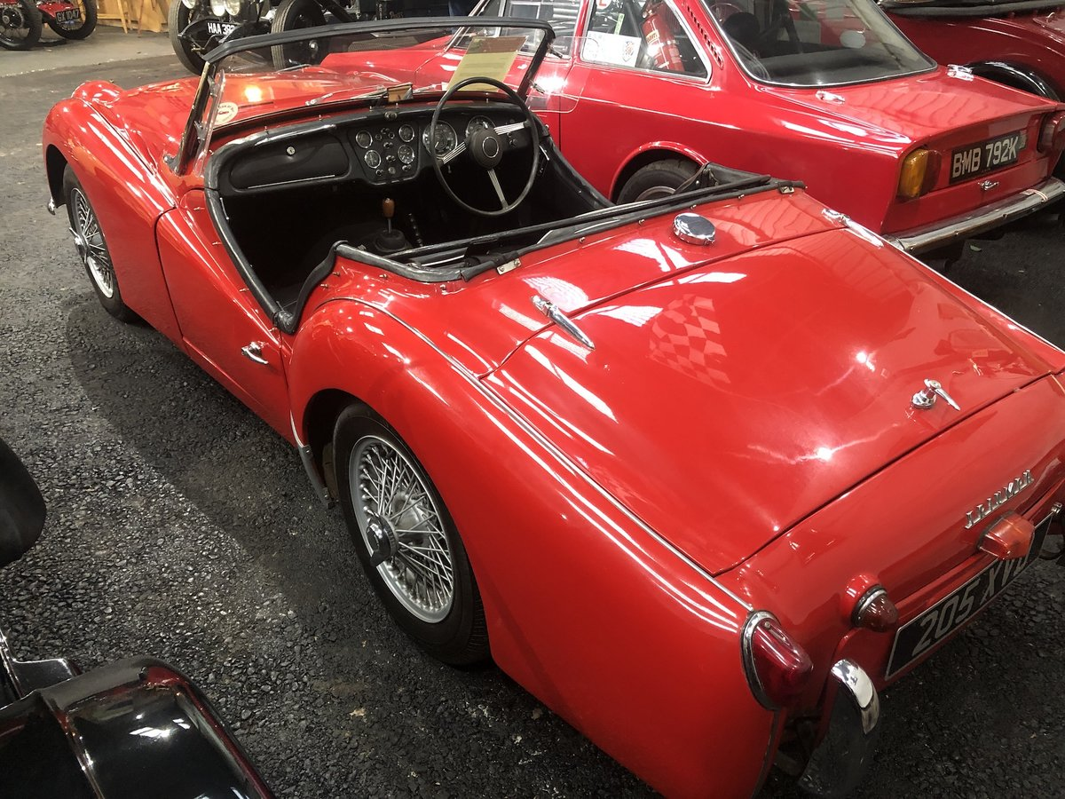 1959 Triumph TR3A For Sale (picture 16 of 24)