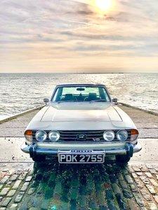1977 Triumph Stag Automatic White