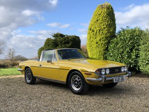 Picture of 1973 Triumph Stag MK II Manual / Overdrive SOLD