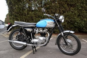 1966 Triumph T120 Bonneville Restored Matching Numbers