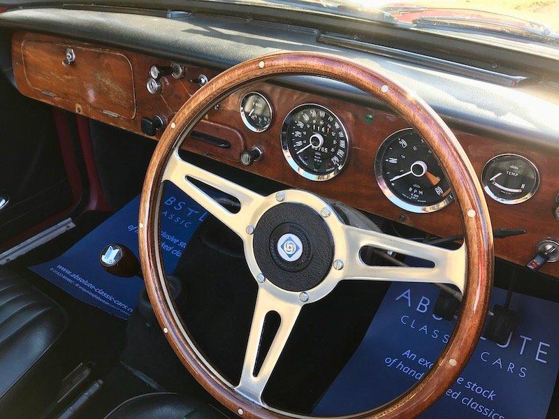 1967 Triumph Vitesse 2 litre Overdrive, Factory Convertible For Sale (picture 3 of 6)