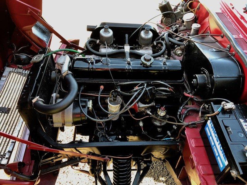1967 Triumph Vitesse 2 litre Overdrive, Factory Convertible For Sale (picture 6 of 6)