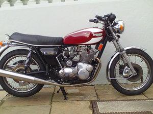 1978 TRIUMPH TRIDENT T160V SOLD