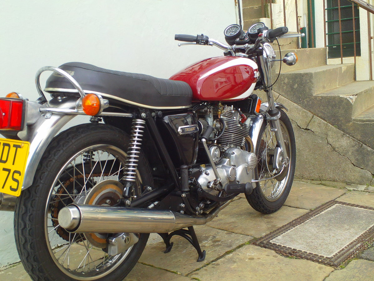 1978 TRIUMPH TRIDENT T160V SOLD (picture 2 of 6)