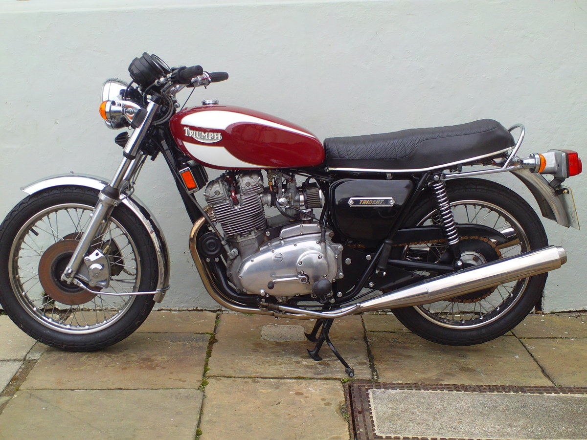 1978 TRIUMPH TRIDENT T160V SOLD (picture 3 of 6)