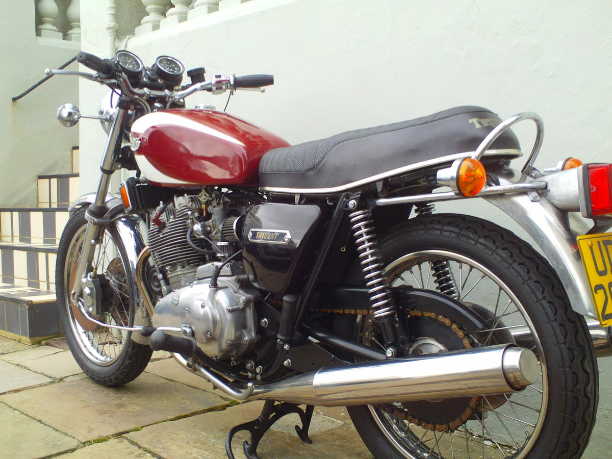 1978 TRIUMPH TRIDENT T160V SOLD (picture 4 of 6)