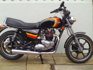 1983 TRIUMPH BONNEVILLE TSX SOLD