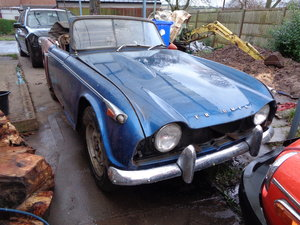1966 Triumph tr4a project For Sale