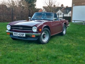 1974 Triumph TR6 - Fully Restored - over 1000 hour restoration For Sale