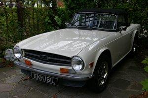 1972 Beautiful Triumph TR6