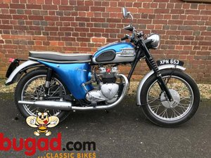 1962 Triumph T100SS - Sporty Twin, Bikini model For Sale
