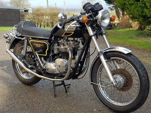1979 TRIUMPH BONNEVILLE T140E CAFE RACER MATCHING NUMBERS.  For Sale