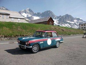 1969 Triumph Vitesse MKII Rally Car