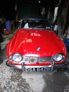 1964 Triumph TR4 Very Original