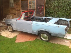 1971 Triumph Herald 13/60 convertible project
