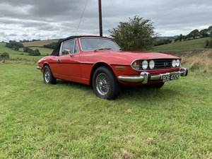 1972 Triumph Stag - 3.0L V8 - Manual - Overdrive .....