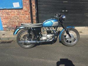 As new restore triumph 650