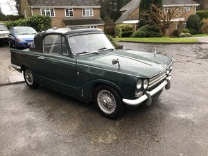 Triumph Vitesse MK2 Factory convertible from HCC