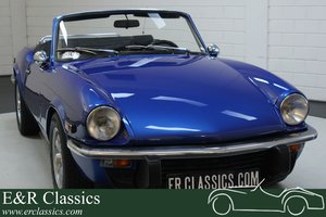 Triumph Spitfire 1500 Cabriolet 1975 Overdrive For Sale