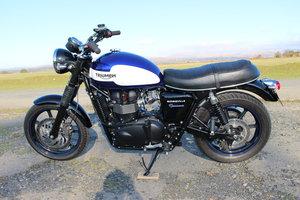 2015 Triumph Bonneville Newchurch 865