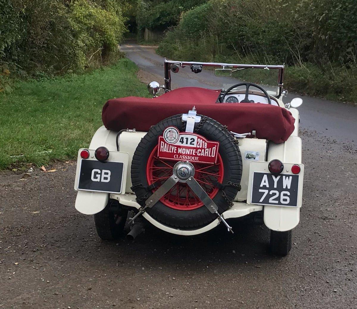 1934 Triumph Gloria Monte Carlo Sports Tourer For Sale (picture 2 of 5)