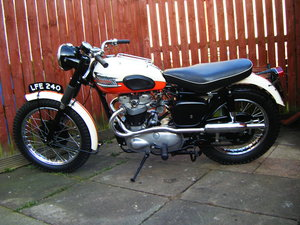 1957 Triumph 650 pre unit