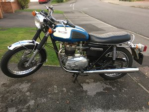 1976 Triumph T140 750 16000 miles from new unrestored