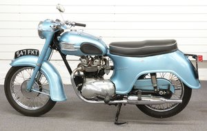 1959 Triumph T21 350cc bathtub