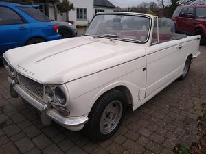 1968 Triumph Vitesse for auction 17th July