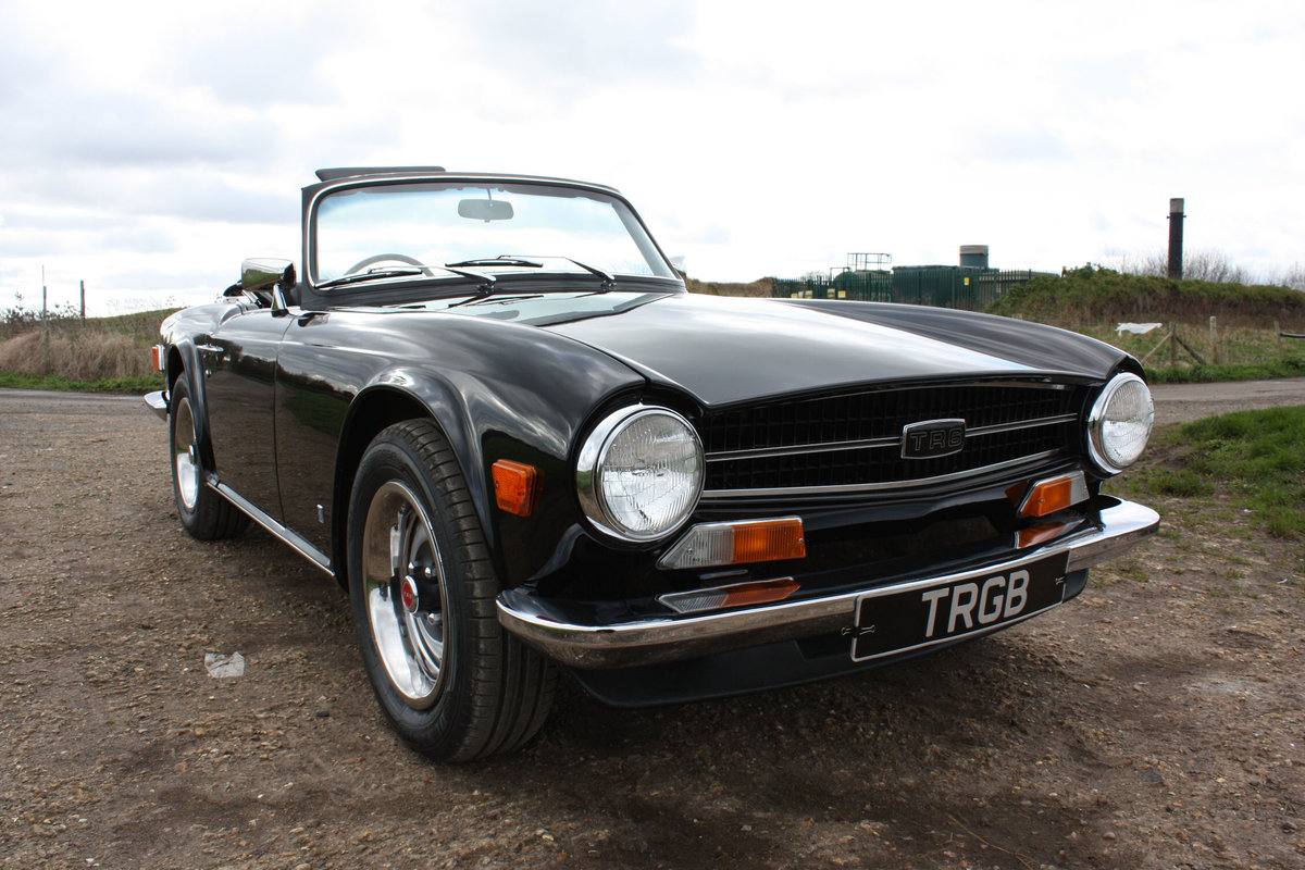 TR6 1973 ORIGINAL UK FUEL INJECTED CAR WITH OVERDRIVE SOLD (picture 1 of 6)