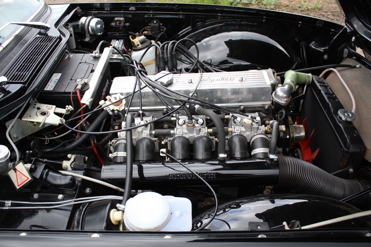 TR6 1973 ORIGINAL UK FUEL INJECTED CAR WITH OVERDRIVE SOLD (picture 4 of 6)