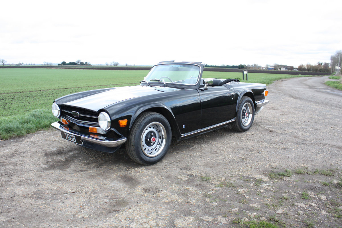 TR6 1973 ORIGINAL UK FUEL INJECTED CAR WITH OVERDRIVE SOLD (picture 5 of 6)