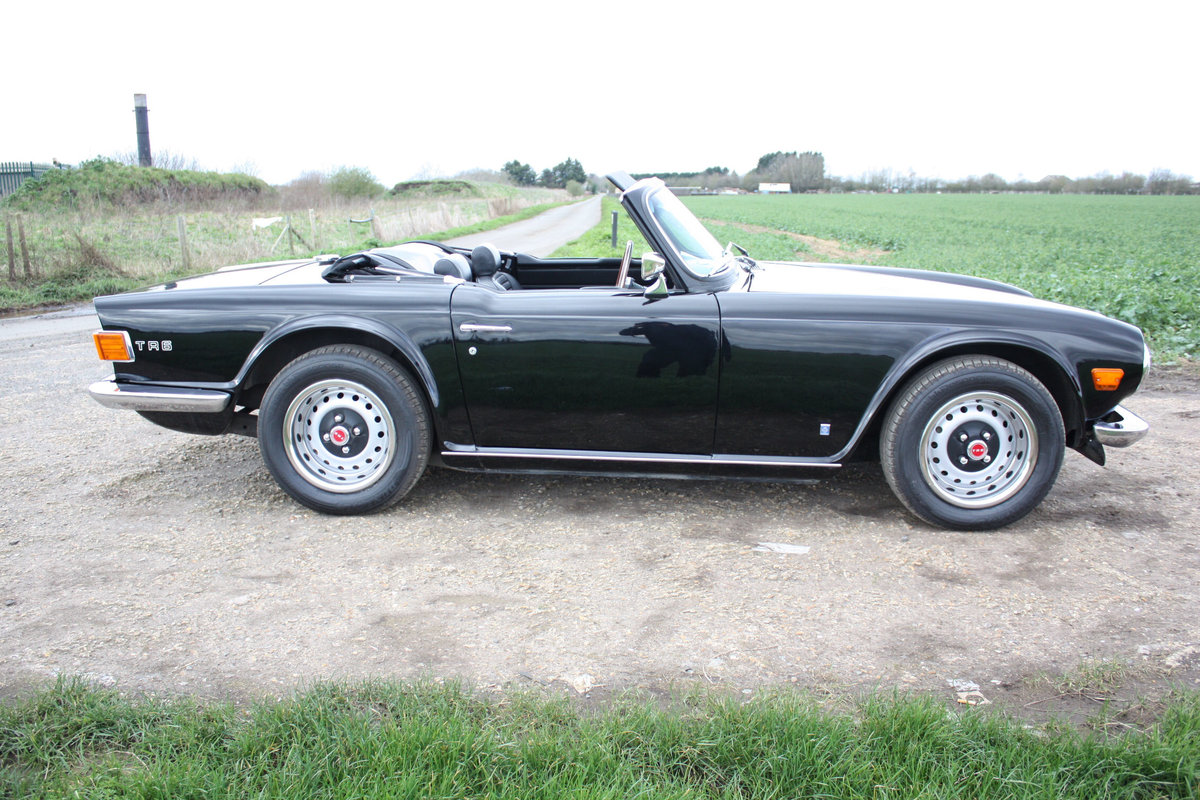 TR6 1973 ORIGINAL UK FUEL INJECTED CAR WITH OVERDRIVE SOLD (picture 6 of 6)