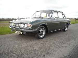 1969 TRIUMPH 2000 MK2 ONE PREVIOUS OWNER 47000 MILES SOLD