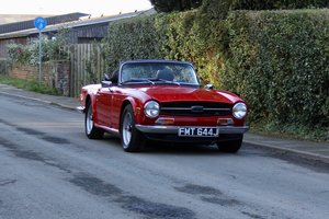 1970 Triumph TR6, UK CP Chassis No car with Overdrive
