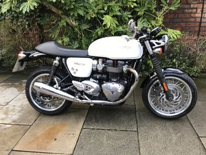 2016 Triumph Thruxton 1200 ABS 1 Owner Exceptional Condition For Sale