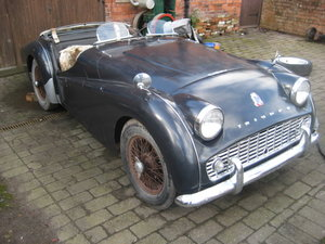 1961 supercharged tr3a For Sale