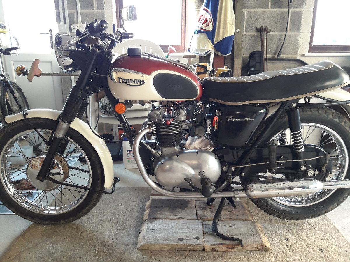 1967 triumph 350cc T90 For Sale (picture 1 of 6)