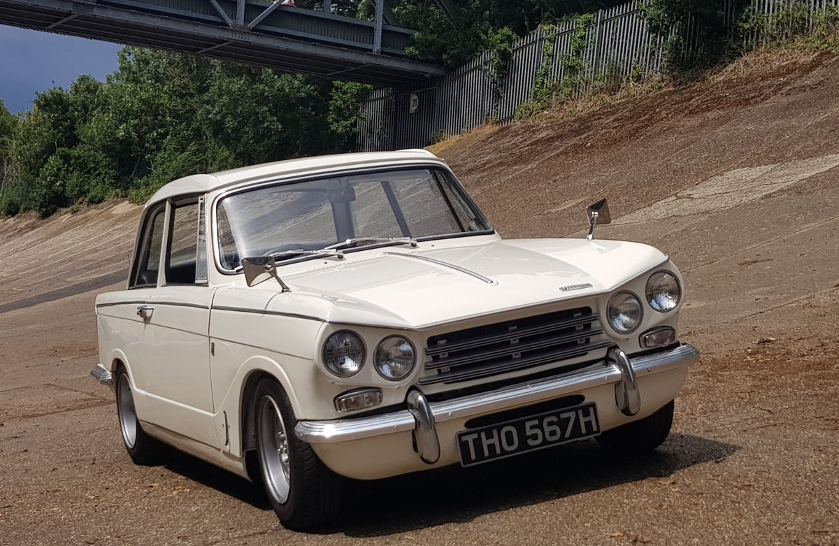 1970 Triumph Vitesse Mk2 Saloon with overdrive SOLD (picture 1 of 6)