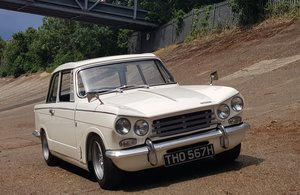 1970  Triumph Vitesse Mk2 Saloon with overdrive