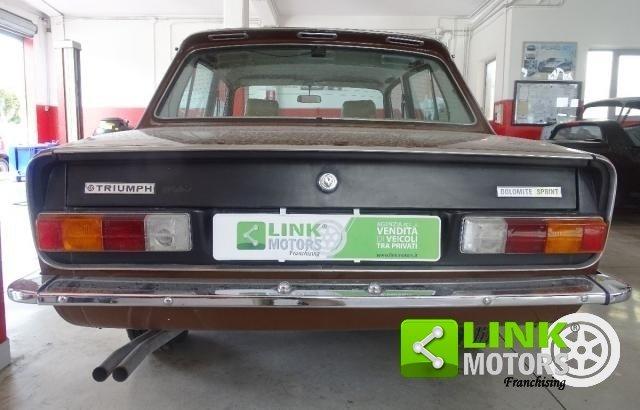 Triumph Dolomite Sprint del 1977 CONSERVATO For Sale (picture 6 of 6)
