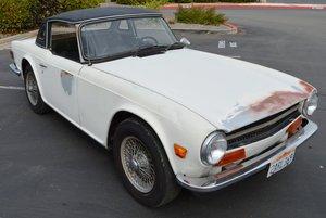 Rust Free Triumph Tr6 White
